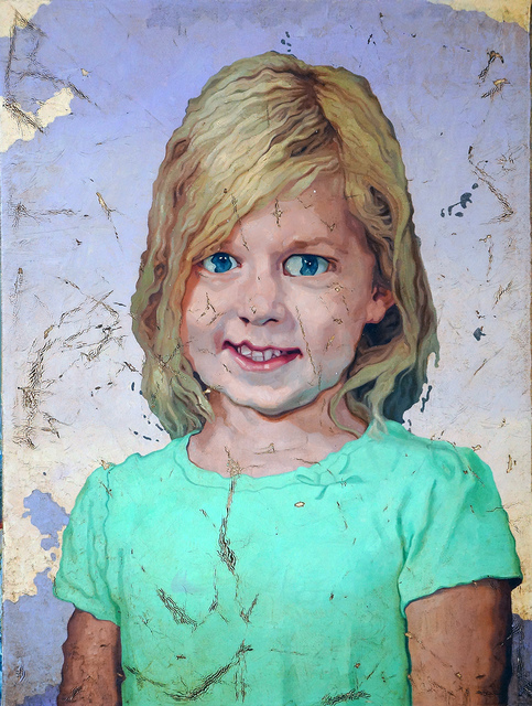 , 'Portrait of a Girl 3,' 2018, Elizabeth Houston Gallery