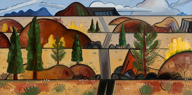 , 'Road Through the Desert,' , William Campbell Contemporary Art, Inc.