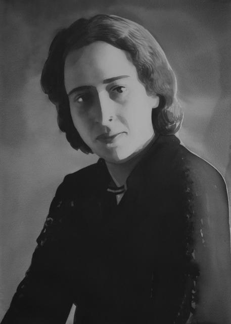 Radenko Milak, 'Hannah Arendt (from the series Female Heroes)', 2019, Christine König Galerie
