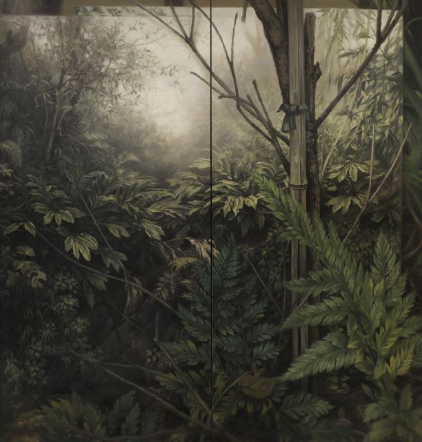 , 'Pteridomania,' 2017, Barnard