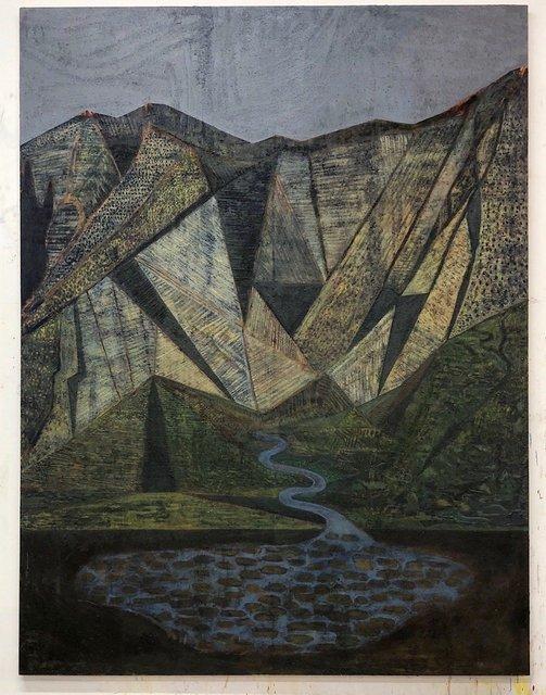 , 'Black Mountain,' 2018, Galerie Zink