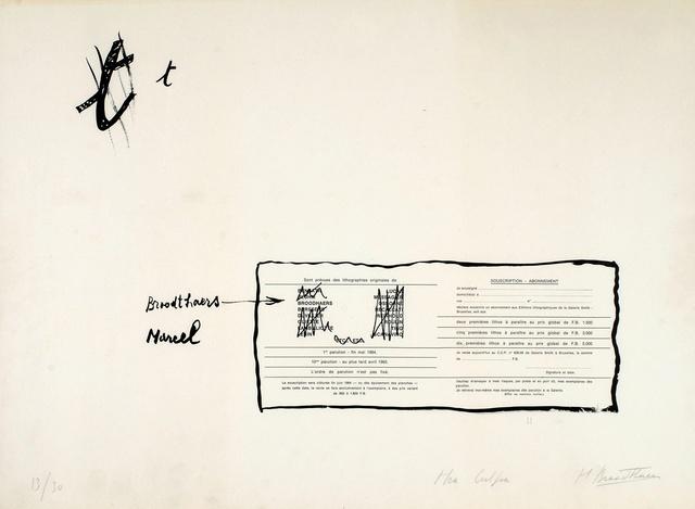 , 'La Faute d'orthographe (Mea culpa),' 1964, Richard Saltoun