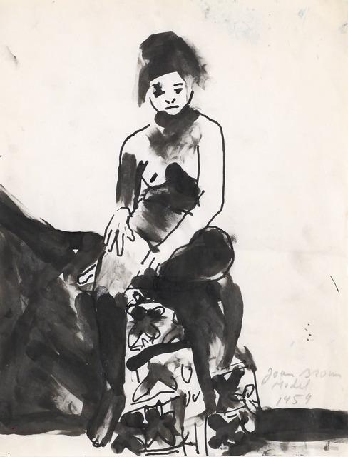 , 'Model,' 1959, Anglim Gilbert Gallery