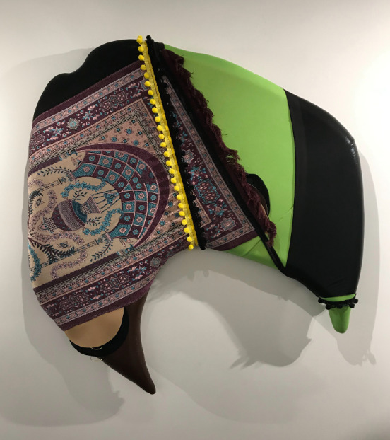 , 'Seat 26 Purple Prayer Rug, ,' 2019, Jenkins Johnson Gallery