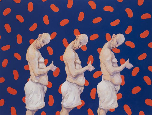 , 'Pale Parade,' 2018, Tang Contemporary Art