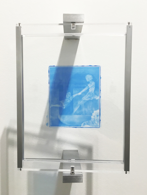 , 'Woodburytype Print of Study Plate 4, New York exhibition - (blue),' 2015, TJ Boulting