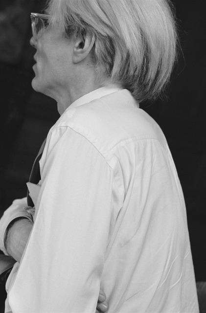 Robert Levin, 'AW Portrait 2, at Factory 1981', 2015, Maison Gerard