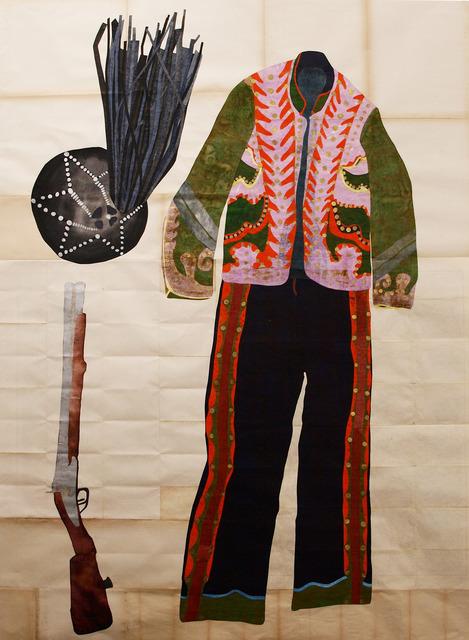 , 'Kostüm des Banditen Gasparone,' 2013, Produzentengalerie Hamburg