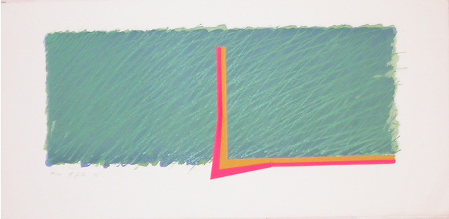 , 'Horizon III (green, pink, yellow and ochre),' 1970, Bernard Jacobson Gallery