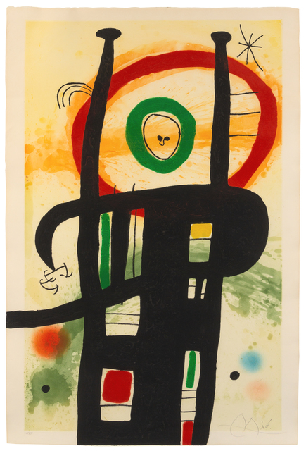 Joan Miró, 'Le Grand Ordinateur', 1969, Hindman
