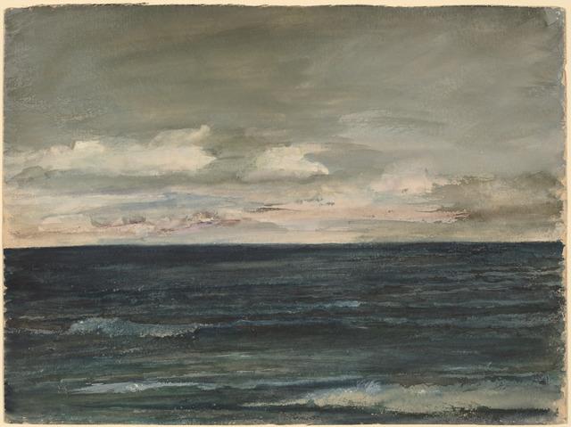 John La Farge, 'Lesson Study on Jersey Coast', 1881, National Gallery of Art, Washington, D.C.