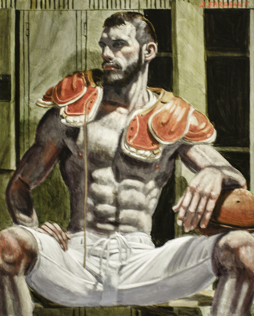 , 'Florent in the Locker Room,' date unknown, Carrie Haddad Gallery