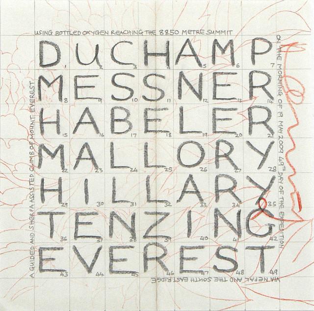 , 'The Names of Seven Men.Nepal 2009,' 2009, Rhona Hoffman Gallery