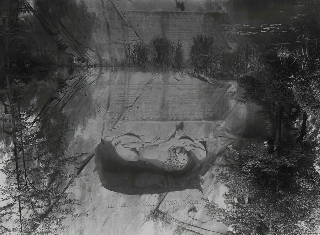 """Adrian Hermanides, """"Untitled (forgoten), 2016, silver gelatine print, image 40 x 56 cm, unique"""