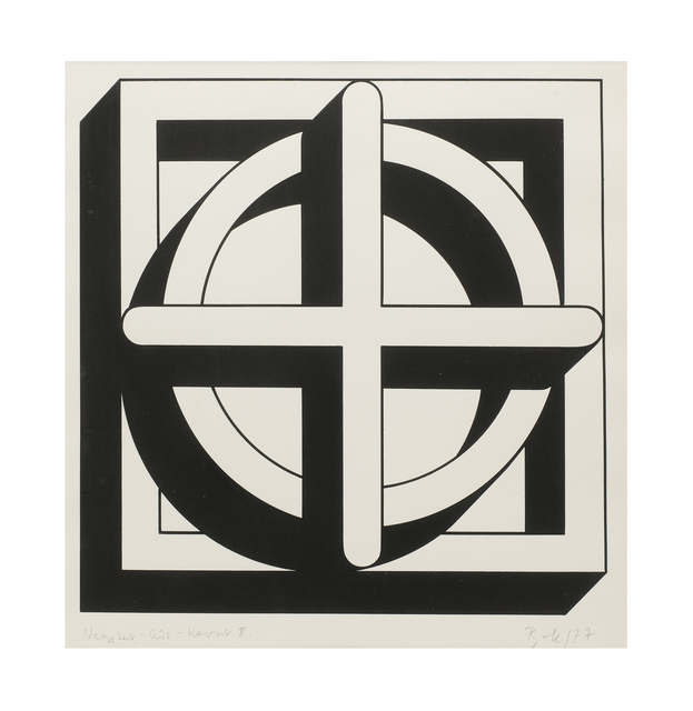 , 'Square-Circle-Cross II,' 1977, The Mayor Gallery