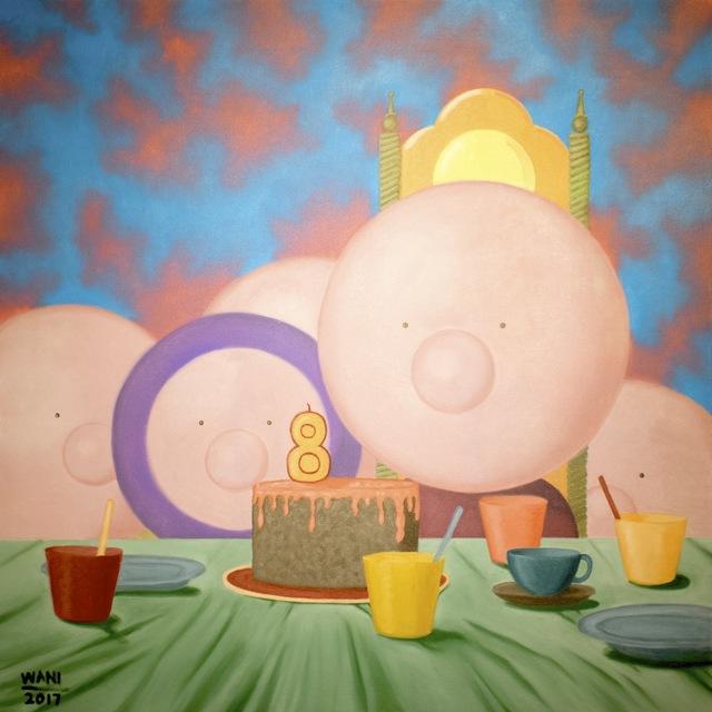 , 'Celebration of Birth,' 2017, Qube Gallery