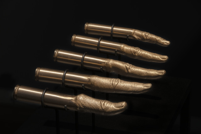 ", '""Point- blank"" Bullets,' 2019, ARC ONE Gallery"