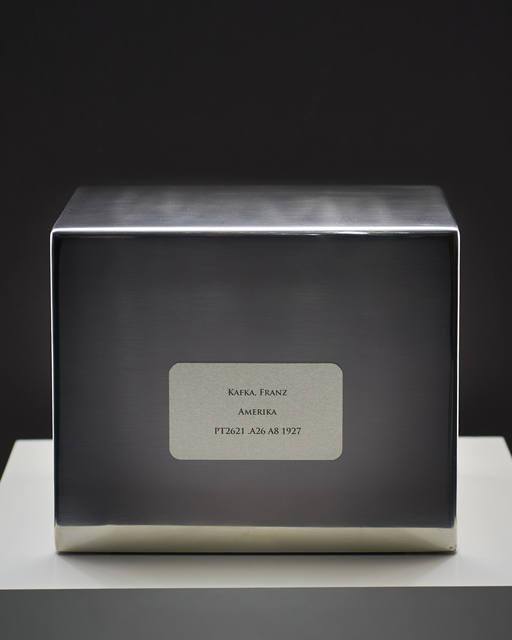 , 'Refinement Pavilion #3 [Kafka, Franz - Amerika - PT2621. A26 A8 1927],' 2012, Zalucky Contemporary