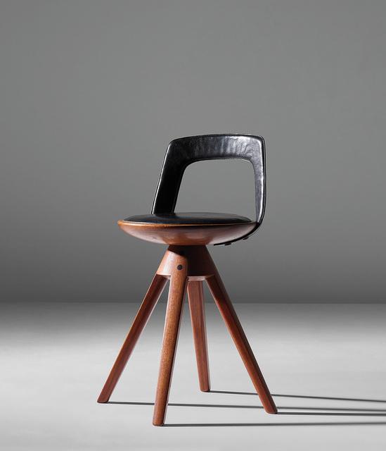 Edvard and Tove Kindt-Larsen, 'Rare swivel stool', circa 1957, Phillips