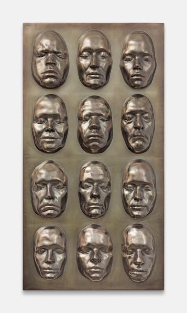 , 'Life Masks,' 2016, Tanya Leighton