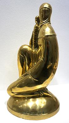 , 'A virgem,' ca. 1920, Dan Galeria