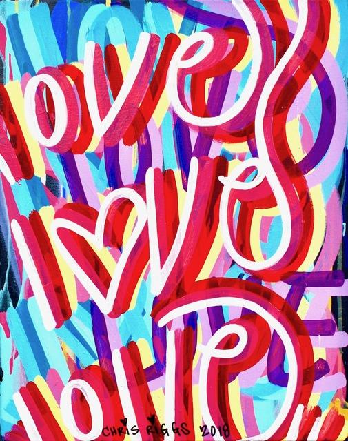 , 'Love Canvas 8,' 2018, Open Mind Art Space
