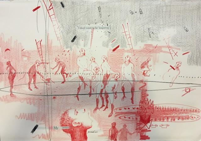 , 'MY OPINION,' 2018, LouiSimone Guirandou Gallery