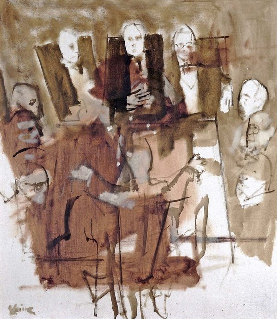 Jack Levine, 'Board Room,' 1965, Madelyn Jordon Fine Art