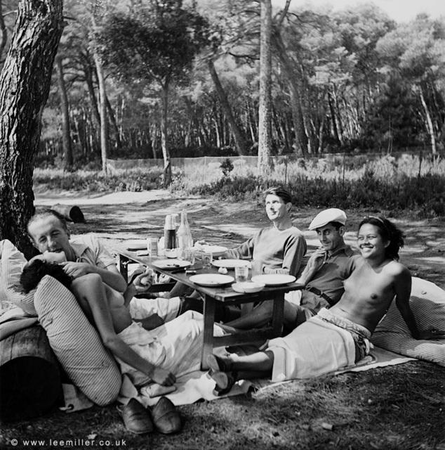 , 'Picnic, Ile St Margueritte, Cannes, France ,' 1937, Lee Miller Archives