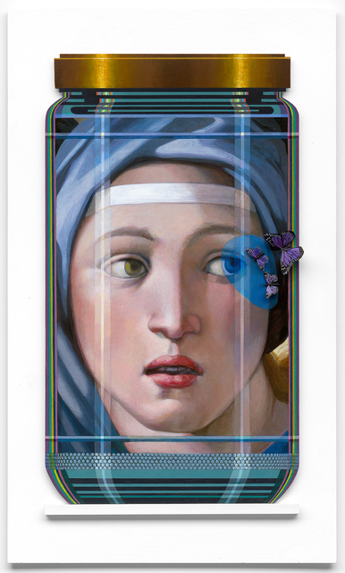 , 'MICHEL ANGELO Delphic Sybil 8PL,' 2017, Gilles Clement Gallery