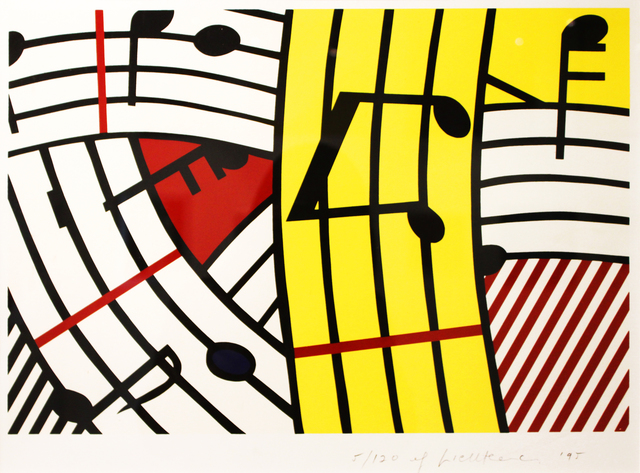 Roy Lichtenstein, 'Musical Notes (Composition IV)', 1995, Fine Art Auctions Miami