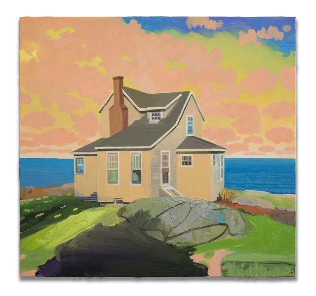 , 'Rock House Dawn,' 2017, Harper's Books