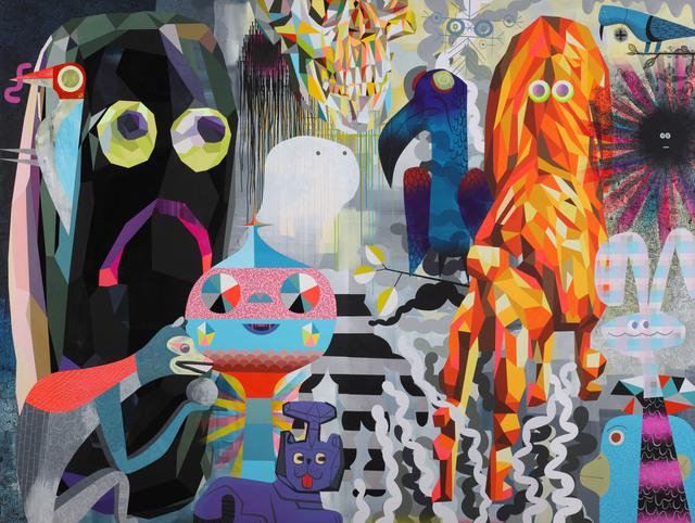 Tim Biskup, 'Open Focus Memory', 2014, Coleccion SOLO