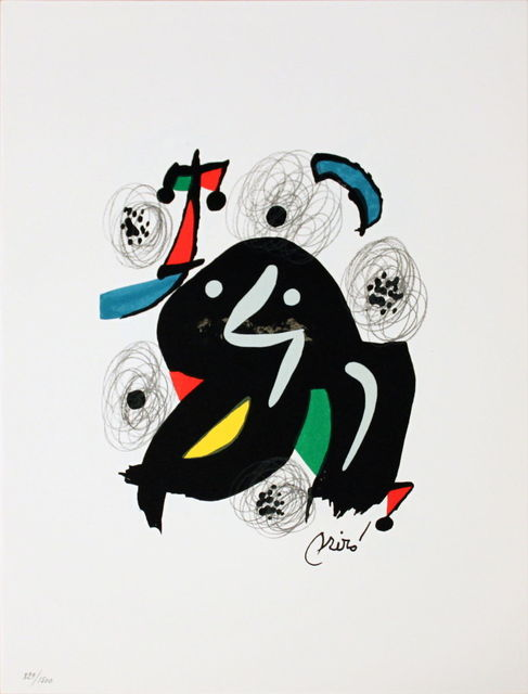 Joan Miró, 'Untitled (from La Melodie Acide V)', 1980, MSP Modern