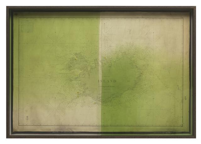 , 'Emerging Island (med omgivende Dybder),' 2018, i8 Gallery