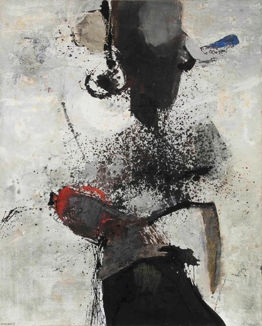 Giuseppe Santomaso, 'Minaccia', 1963, Cambi