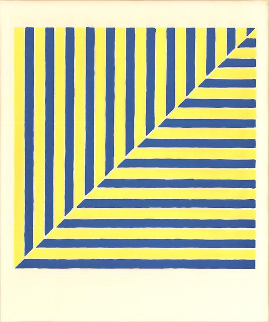 Frank Stella, 'Untitled (Rabat) (From Ten Works by Ten Painters)', 1964, ArtWise