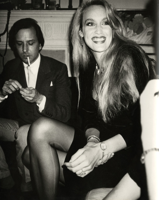 Andy Warhol, 'Andy Warhol, Photograph of Fred Hughes and Jerry Hall circa 1980', ca. 1980, Hedges Projects