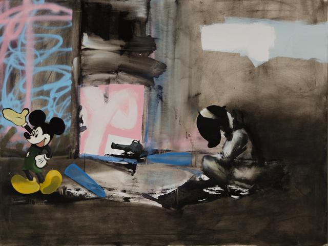 , 'Breaking News ,' 2014, Joerg Heitsch Gallery