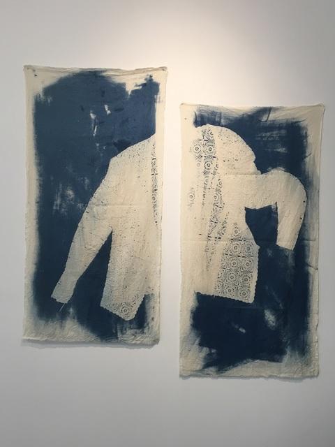 , 'We picked blackberries in her garden,' 2016, Open Mind Art Space
