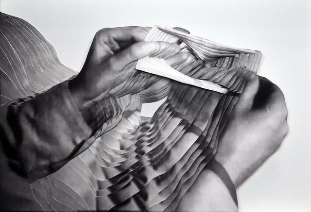 , 'Kristall (What is money IV /A),' 2015, Raum mit Licht