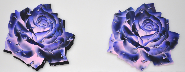 , 'Wounded Heart 1 and 2,' 2016, Allouche Gallery