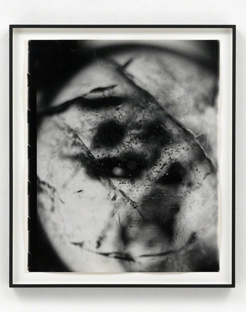 Sigmar Polke Ohne Titel (Kristallkugel), 1990 Gelatin silver print Unique 60.5 x 51.1 cm / 23 3/4 x 20 in Framed: 68 x 58.5 x 4 cm
