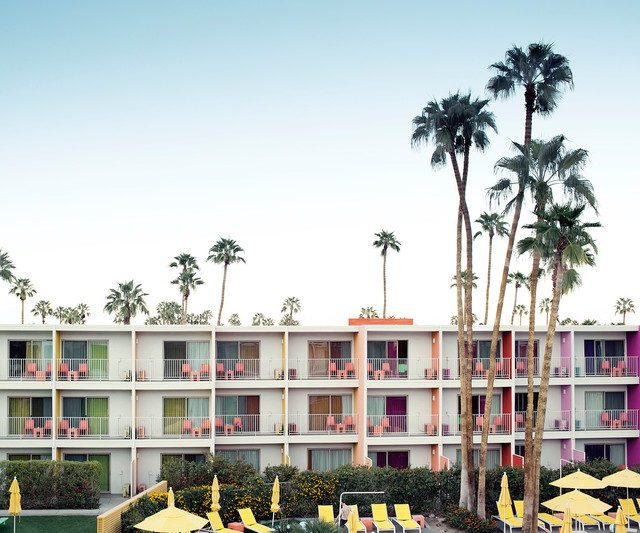 , 'Palm Springs Hotel,' , ArtStar