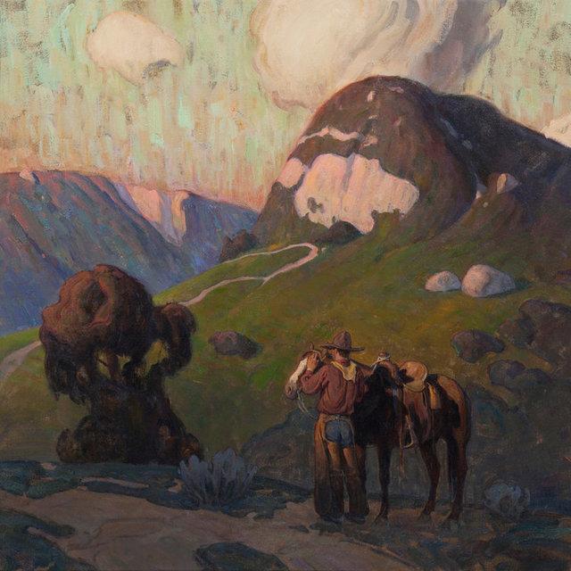 ", '""Green Mountain"" ,' 2018, Maxwell Alexander Gallery"