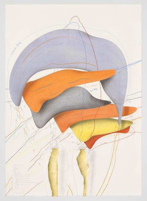 , 'A New Kind of Joy - Study (1),' 2016-2017, David Nolan Gallery