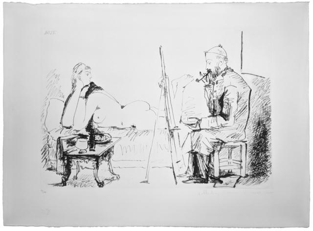 Pablo Picasso, 'LA PIENTRE ET SON MODELE', 1979-1982, Gallery Art