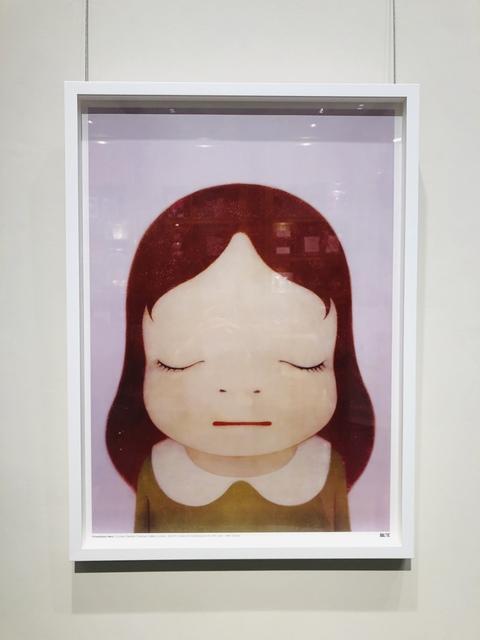 Yoshitomo Nara, 'Cosmic Girl (Eyes Shut)', 2008, Lex Art Gallery