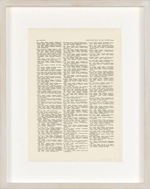 , 'Trascrizioni,' 1975, P420