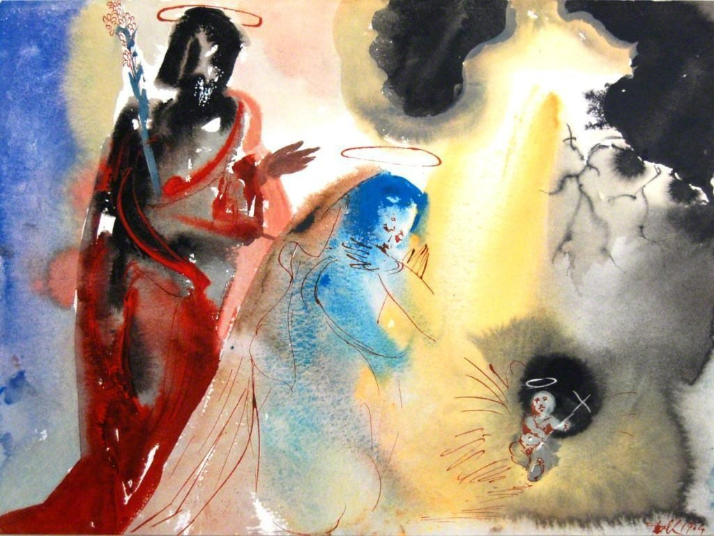 Salvador Dalí   The Birth Of Jesus (1967)   Available for Sale   Artsy